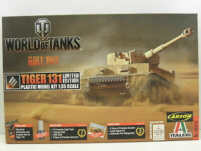 Italeri 36512 Modellbausatz World of Tanks Pz. Tiger 131 M. 1:35