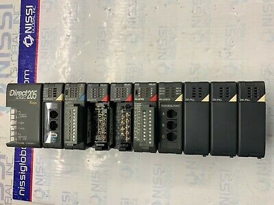 Koyo 205 Direct Logic H2-wplc1 - D2 -16nd3 - D2 - 08tr X2-f2-08trs -h2-serio