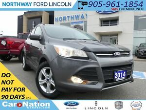 2014 Ford Escape SE | REAR CAMERA | HEATED LEATHER | LOW KM |