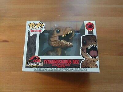 Tyrannosaurus Rex 548 Funko Pop Vinyl Figure New Jurassic Park 25th Anniversary
