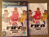 Custodia Con Copertina E Libretto D'istruzioni Fifa Football 2004 Play Station 2 -  - ebay.it