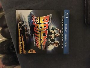 Back to the future 25th anniversary bluray