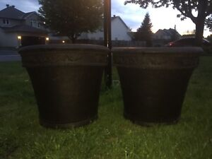 Large flower pots
