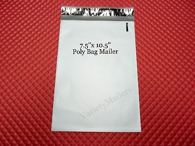 15 Poly Bag Postal Shipping Envelope Mailers 7.5x 10.5 Self-sealing