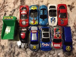Official Marvel Collectible Toy Cars 2003 by Maisto like New