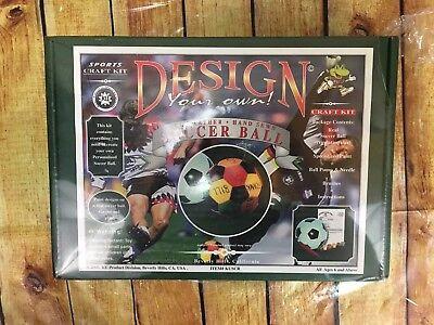 Design Your Own Soccer Ball (Design Your Own Soccer Ball Kit NEW)