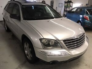 2005 Pacifica  All Wheel Drive with leather and seats 7