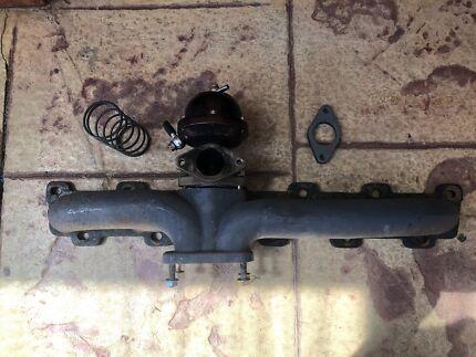 Nissan patrol td42 turbo manifold and wastegate tb42 tb45