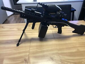 Paintball tippmann a5 egrip Air-thru metal stock