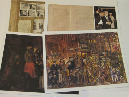 7 SMITHSONIAN ARCHIVES POSTERS! HARLEM RENAISSANCE/MLK/WWII/CIVIL WAR/PAINTINGS