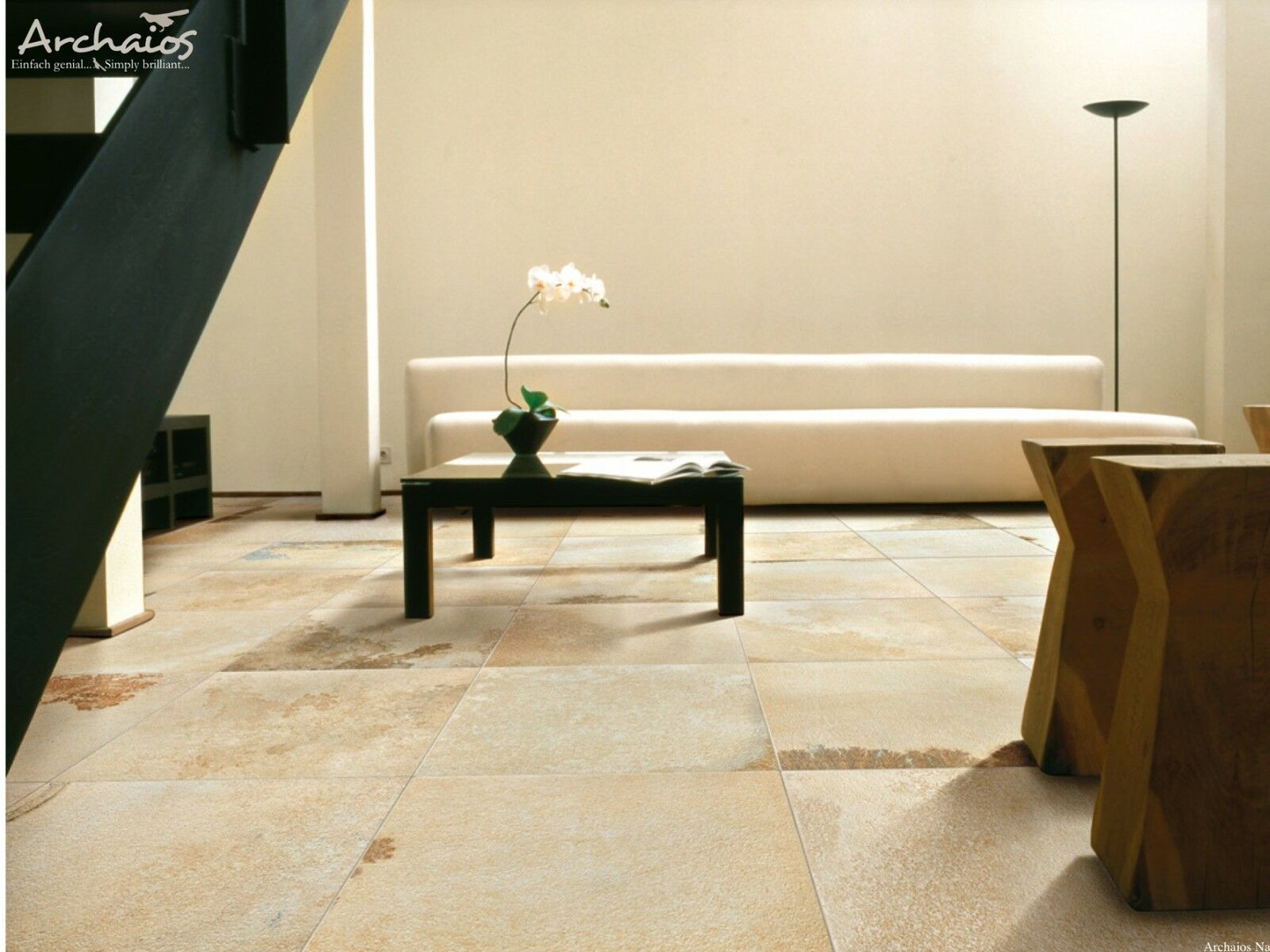 glasierte feinsteinzeug bodenfliese solnhofener nachbildung naturstein imitat eur 38 00. Black Bedroom Furniture Sets. Home Design Ideas