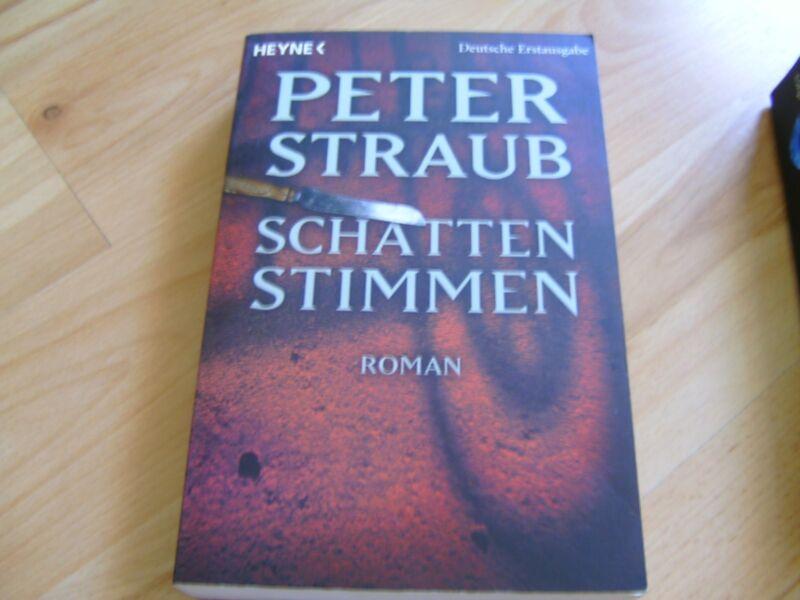 Schatten Stimmen von Peter Straub (2006, Taschenbuch)