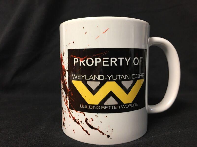 Alien movie Coffee Mug Covenant Weyland Yutani Aliens Game Over Funny