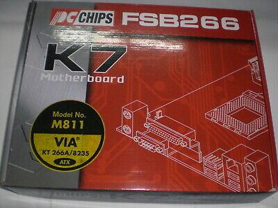 PC CHIPS M811 , nueva, completa, caja original (para AMD Duron Athlon)...
