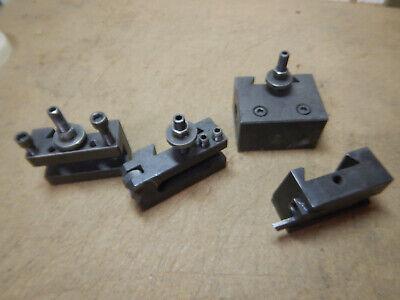 Metal Lathe Quick Change Tool Post Tool Holder Blocks Boring Knurling Other