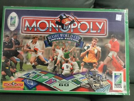 Monopoly Rugby World Cup 1999 limited edition