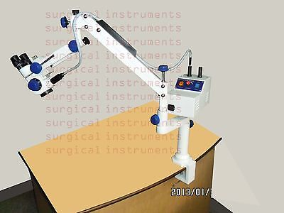 5-step Portable Operating Ent Microscope Table Clamp