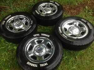 6 bolt ford rims with tires