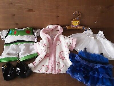 Build A Bear Workshop Factory Clothes & Shoes lot Hello Kitty Buzz Disney Duffy