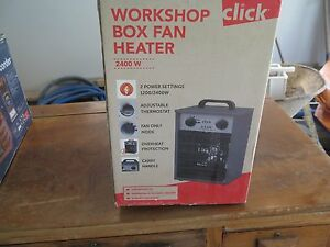 Never used worksop heater Strathfield Strathfield Area Preview