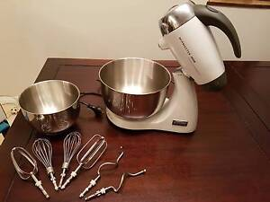 As-New Sunbeam Cafe Series Mixmaster 850W White - Barely Used Sans Souci Rockdale Area Preview