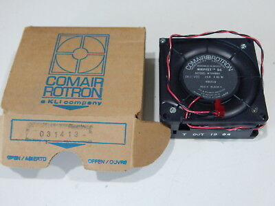 Comair Rotron Wt24b6x 031413 24vdc 4.6w Whiffet Dc Fan