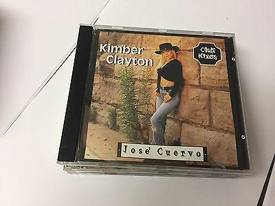 Jose´ Cuervo (Tequila Mix) by Kimber Clayton CD 3 TRKS Jose Cuervo Tequila Mix
