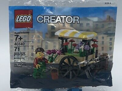LEGO Exclusive Promo FLOWER CART 40140 New Factory Sealed Spring Seasonal Retire