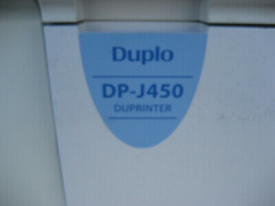 Duplo Dp-j450 Wide Format Digital Duplicator