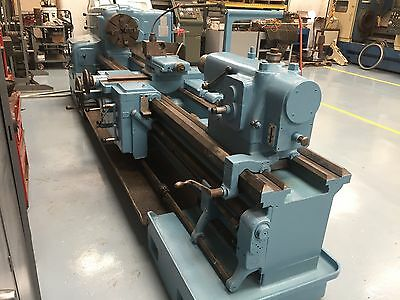 American Pacemaker 20 X 96 Style E Engine Lathe Threading Taper