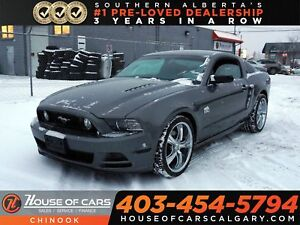 2014 Ford Mustang GT Tuned w/ Heated Leather Seats, Bluetooth