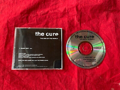 CURE  THE END OF THE WORLD PROMO ONLY 1 CUT 2004 US  CD SINGLE