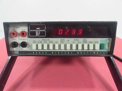Fluke 8000a Digital Multimeter - Free Shipping
