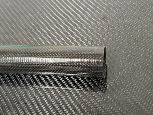 Carbon Fiber Tube Plain Weave 1.58 x 1.61 x 43 inch (listed 8-29-19)