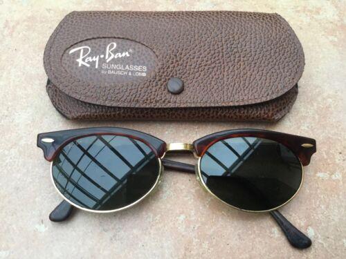 Ray Ban Original Sonnenbrille braun mit goldenen Details sehr gut erhalten