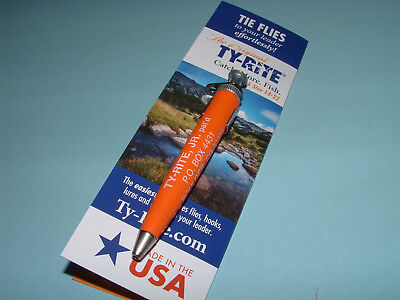 TY-Rite Jr Original Fly Fishing Knot Tool Flies Hooks Hook Midge Holder USA