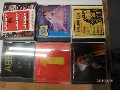 cd lot, ABBA, Neil Diamond, Lion King, Judy Garland, Beatles Linda Ronstadt