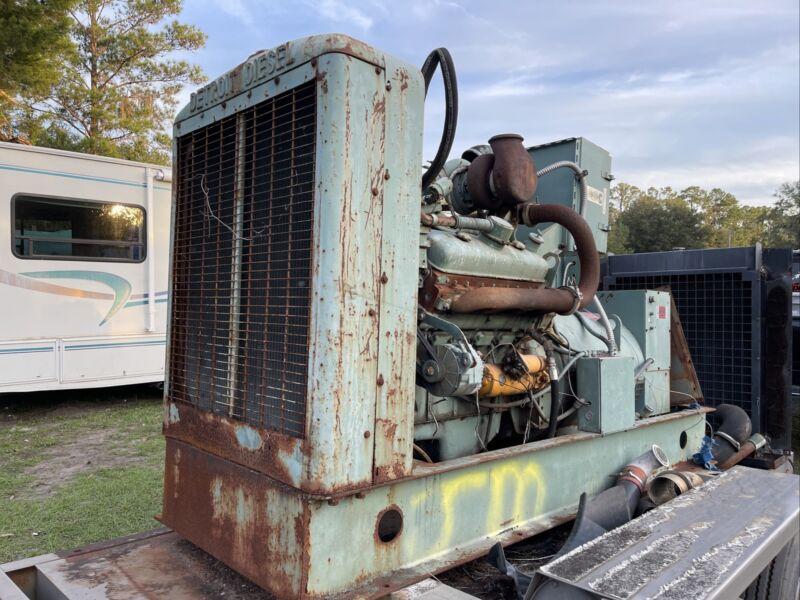 Detroit Powered 75KW Powerplant