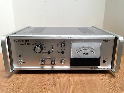 Denshijiki Ind. Gauss Meter Model Gm-801r