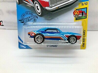 Hot Wheels Treasure Hunt '67 Camaro - SUPER CUSTOM w/Real Riders  2019 Case Q