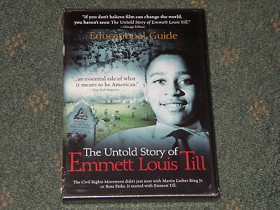 The Untold Story of Emmett Louis Till Education Guide CD & DVD 2 disc. Brand