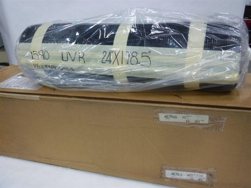"New In Box  24"" 178.5"" PTFE Black Mesh Conveyor Belt FR900164 9D"