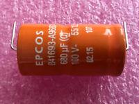 neu/&ovp 10 x EPCOS sikorel 125 100µf//160v