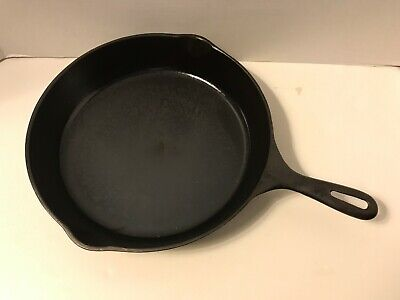 #10 Cast Iron SKILLET Frying Pan, umarked Wagner, Cleaned & Ready for sale  Fairfield