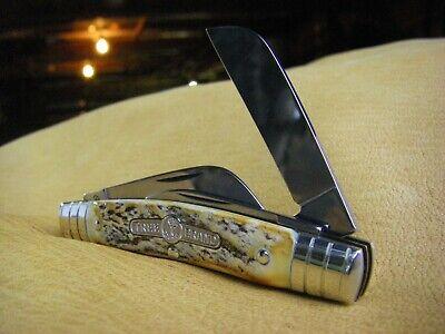 Boker Tree Brand Congress Knife Stag Handles German Made