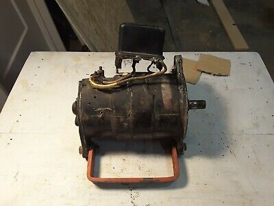 Case Vac Vai Va Tractor Generator Has No Belt Drive Pulley Not Tested Sold As Is