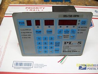 Electro Cam Programmable Limit Switch 120vac Ps-4000-10-016