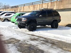 Fs 2002 Jeep Grand Cherokee lifted 4.7 H/0