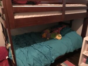 Moving sale- Like New *2 bunk beds and 4 mattresses