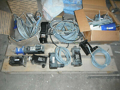 Lot Of Industrial Servo Motors And Drives 5739